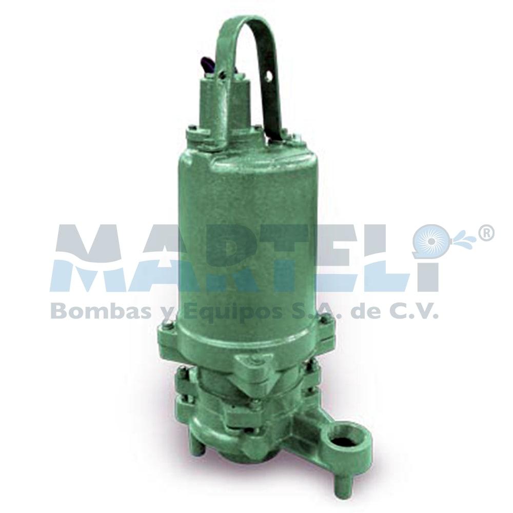 Bomba sumergible trituradora de marca barnes modelo for Bomba trituradora sanitrit